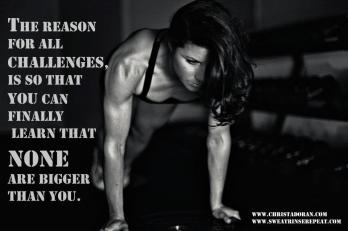 christa doran reason for your challenges