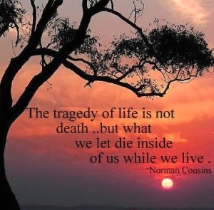 tragedy of life